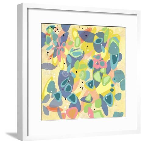 Falling on Water 1-Jan Weiss-Framed Art Print