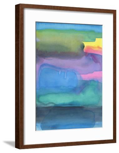 Distressed Landscape 3-Stephanie Pryor-Framed Art Print