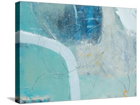 Sea Edge-David Mankin-Stretched Canvas Print