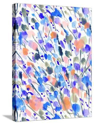 Wild Nature Blue-Jacqueline Maldonado-Stretched Canvas Print
