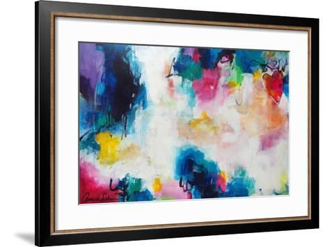 Heart of the Matter-Amira Rahim-Framed Art Print