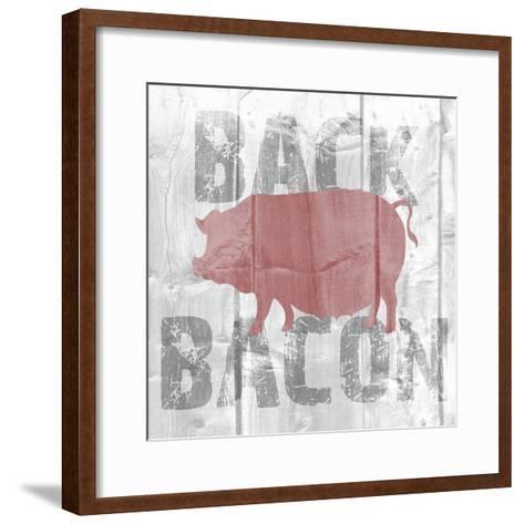 Back Bacon-Alicia Soave-Framed Art Print