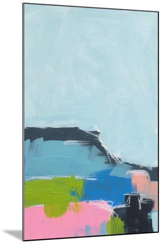 Landscape No. 100-Jan Weiss-Mounted Art Print