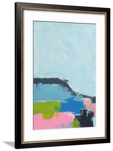 Landscape No. 100-Jan Weiss-Framed Art Print