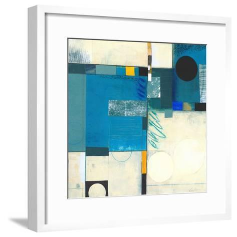 Calypso Blue I-Deborah T. Colter-Framed Art Print