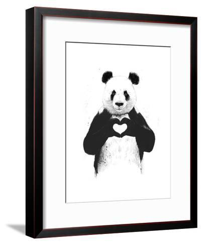 All You Need Is Love-Balazs Solti-Framed Art Print