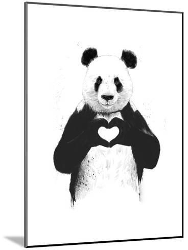 All You Need Is Love-Balazs Solti-Mounted Art Print