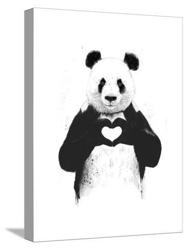 All You Need Is Love-Balazs Solti-Stretched Canvas Print