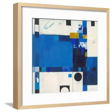 Blueberry Hill III-Deborah T. Colter-Framed Art Print