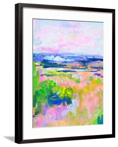 Colourful Land II-TA Marrison-Framed Art Print
