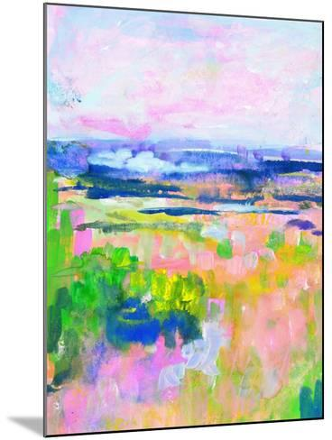 Colourful Land II-TA Marrison-Mounted Art Print