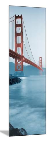 Golden Gate Bridge at Dawn (B)-Alan Blaustein-Mounted Photographic Print