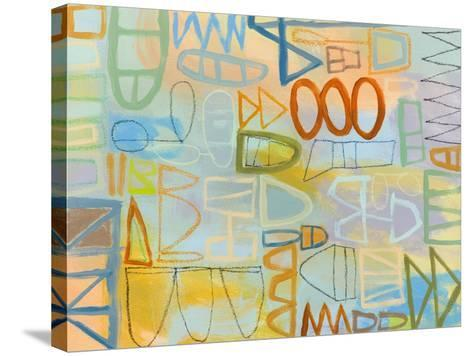 Duet Series IV-Janet Richardson-Baughman-Stretched Canvas Print