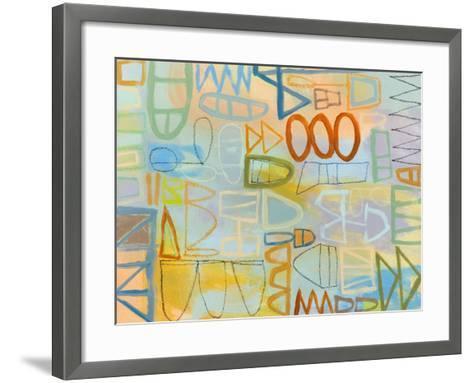 Duet Series IV-Janet Richardson-Baughman-Framed Art Print