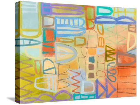 Duet Series II-Janet Richardson-Baughman-Stretched Canvas Print