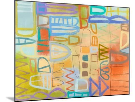 Duet Series II-Janet Richardson-Baughman-Mounted Art Print