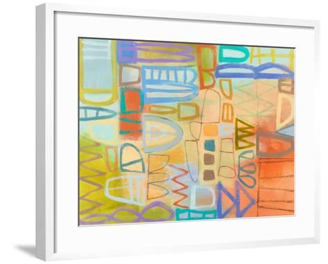 Duet Series II-Janet Richardson-Baughman-Framed Art Print