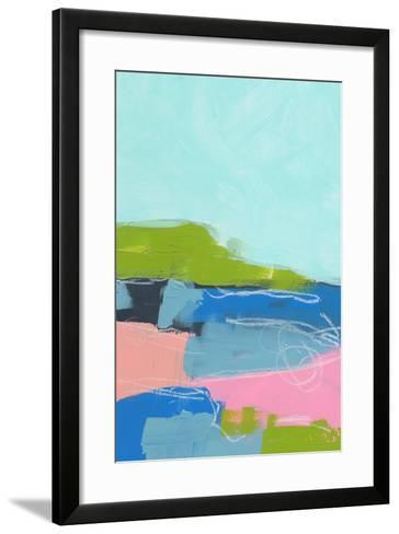 Landscape No. 96-Jan Weiss-Framed Art Print