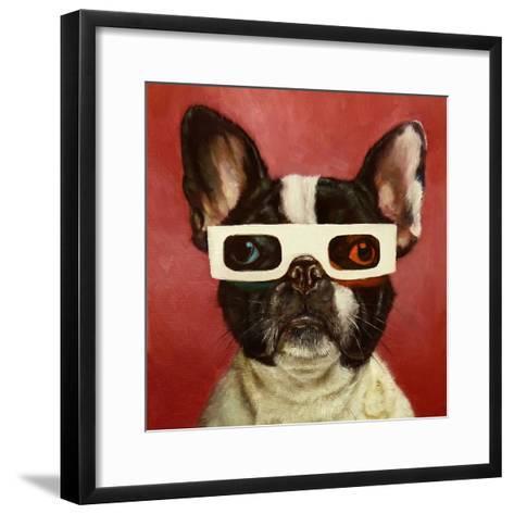 3D Dog-Lucia Heffernan-Framed Art Print