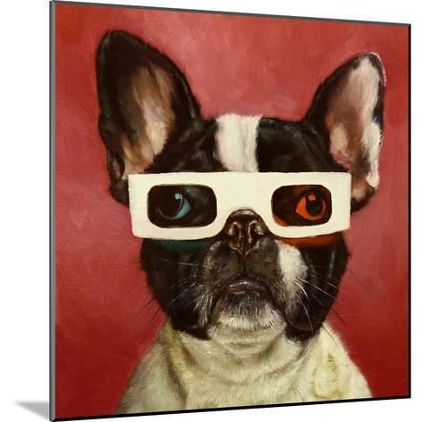 3D Dog-Lucia Heffernan-Mounted Art Print