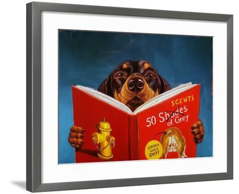 50 Scents of Grey-Lucia Heffernan-Framed Art Print