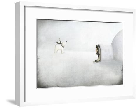 The Igloo-Maja Lindberg-Framed Art Print