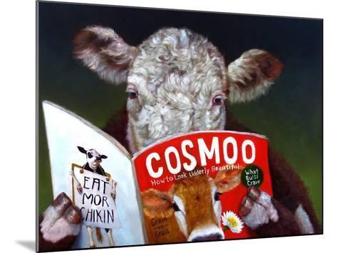 Cow Tips-Lucia Heffernan-Mounted Art Print