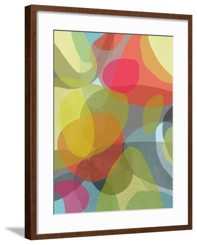 Layered Earth Two-Jan Weiss-Framed Art Print