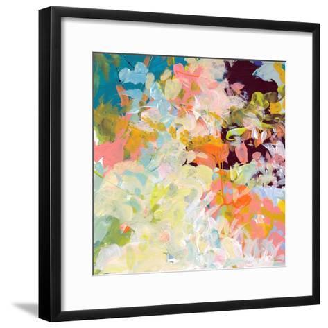 Lunar Freefall 1-Jan Weiss-Framed Art Print