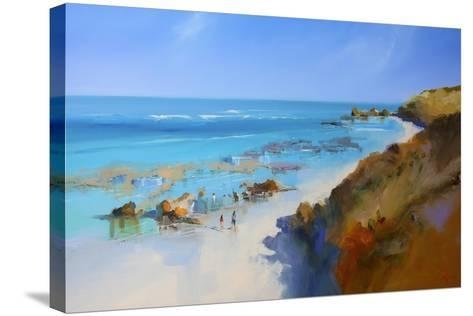 On the Back Beach, Sorrento-Craig Trewin Penny-Stretched Canvas Print