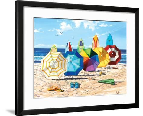 Brellas & Boards-Scott Westmoreland-Framed Art Print