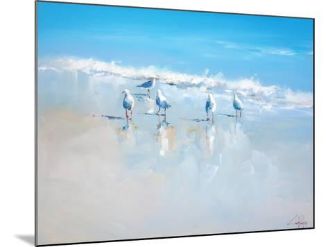Sorrento Gulls-Craig Trewin Penny-Mounted Art Print