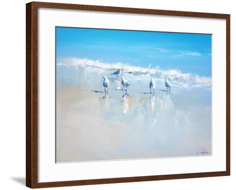 Sorrento Gulls-Craig Trewin Penny-Framed Art Print