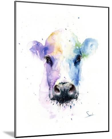 Abstract Cow-Eric Sweet-Mounted Art Print