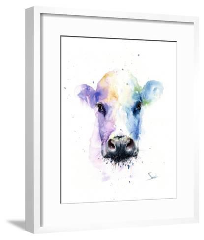 Abstract Cow-Eric Sweet-Framed Art Print