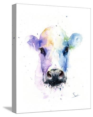 Abstract Cow-Eric Sweet-Stretched Canvas Print