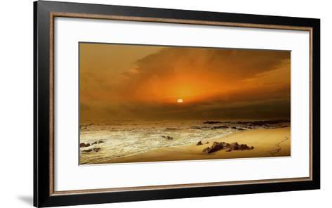 The Beach-Adelino Gon?alves-Framed Art Print