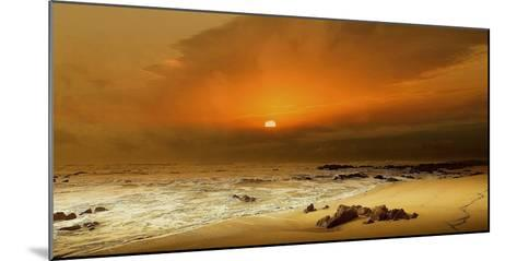 The Beach-Adelino Gon?alves-Mounted Photographic Print