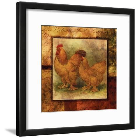 Hen and Rooster II- Studio Voltaire-Framed Art Print