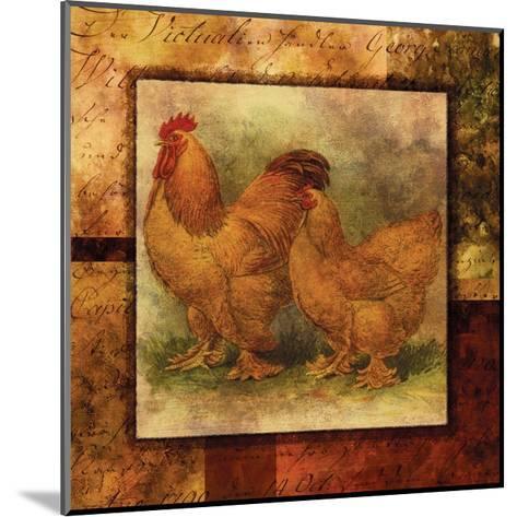 Hen and Rooster II- Studio Voltaire-Mounted Art Print