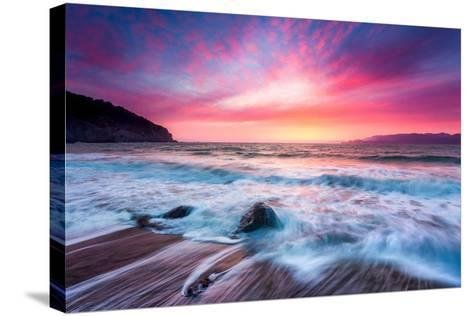 Distant Glow-Dave Gordon-Stretched Canvas Print