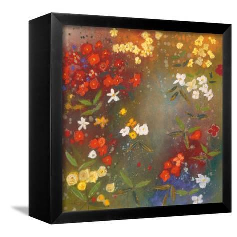 Gardens in the Mist IV-Aleah Koury-Framed Canvas Print