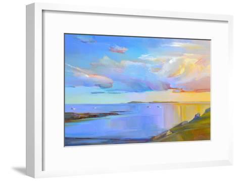 Summer Cove-Holly Ready-Framed Art Print
