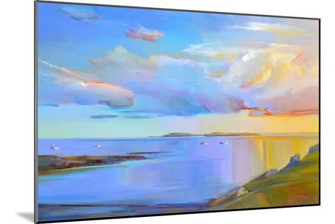 Summer Cove-Holly Ready-Mounted Art Print