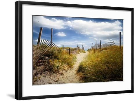 Summer?s Departure-John Rivera-Framed Art Print