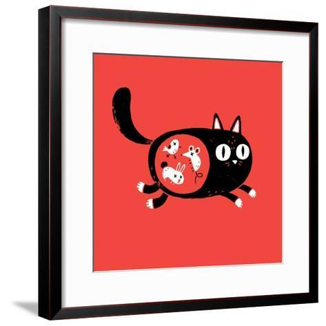 It's What's Inside that Counts-Michael Buxton-Framed Art Print