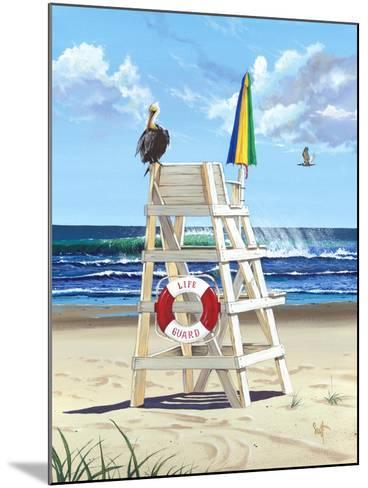 Pelican Perch-Scott Westmoreland-Mounted Art Print