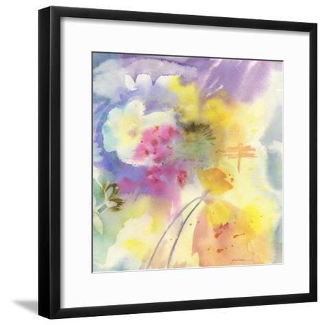 Dragonfly-Sheila Golden-Framed Art Print
