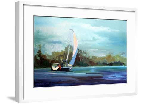 Sailboat-Carol Hallock-Framed Art Print