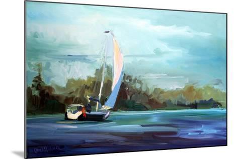 Sailboat-Carol Hallock-Mounted Art Print